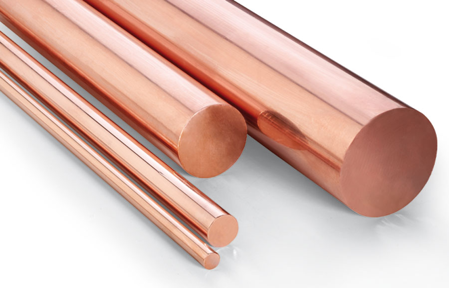 Copper round bar applications