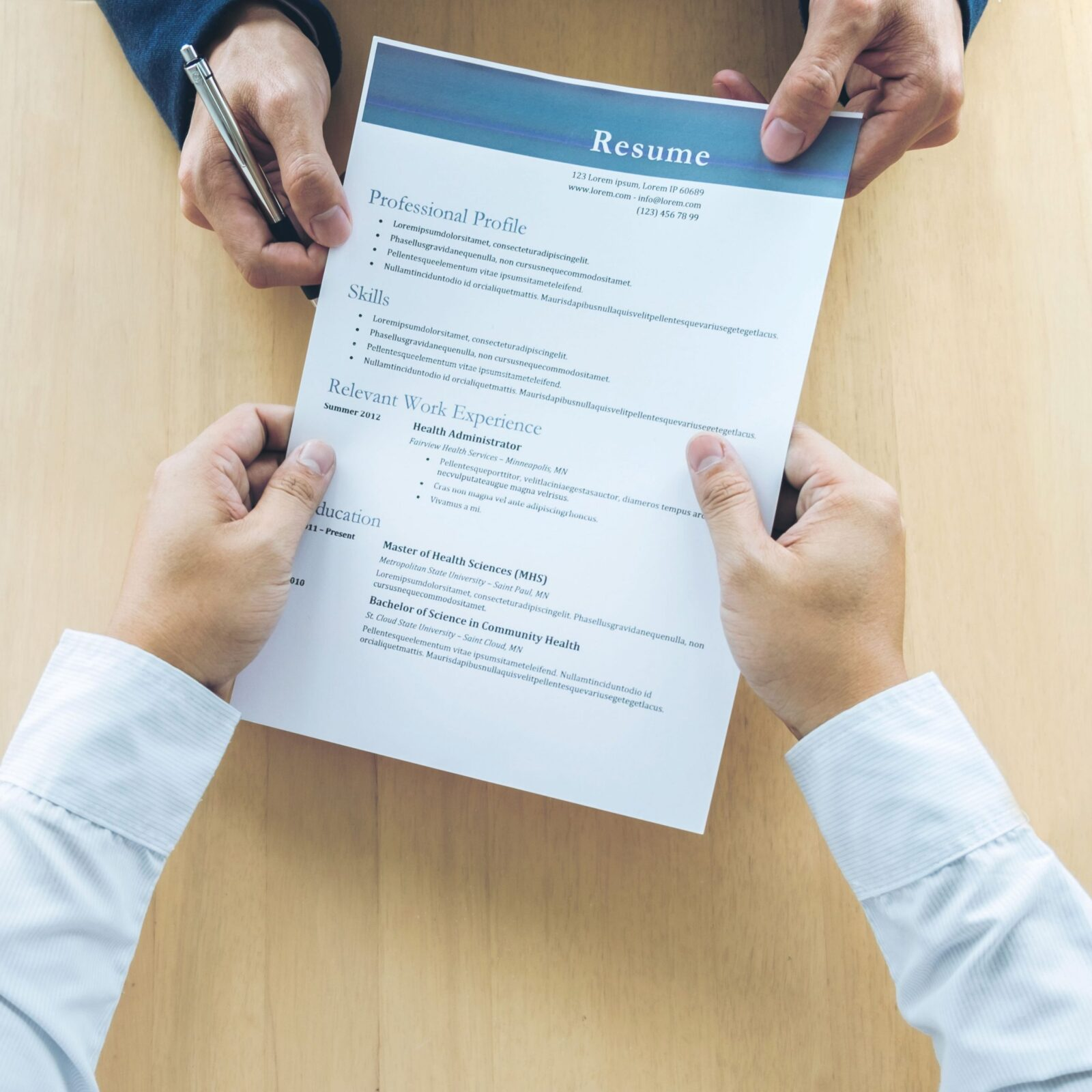 Find a job with a resume build is simple and efficient